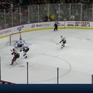 Martin Jones Save on Nino Niederreiter (00:58/1st)
