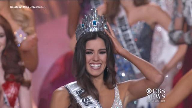 Miss Colombia crowned Miss Universe 2014