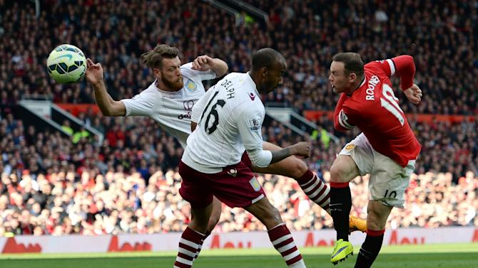 Wayne Rooney Goal Against Aston Villa Wayne Rooney R scores their second goal during the match against