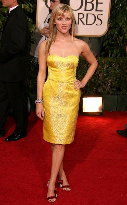 Reese Witherspoon at the 64th annual Golden Globe Awards.