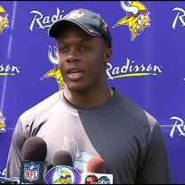 QB Race On At Vikes' Training Camp