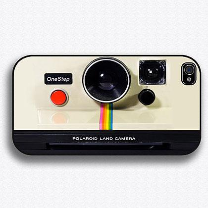 5. Vintage Polaroid iPhone Camera Case