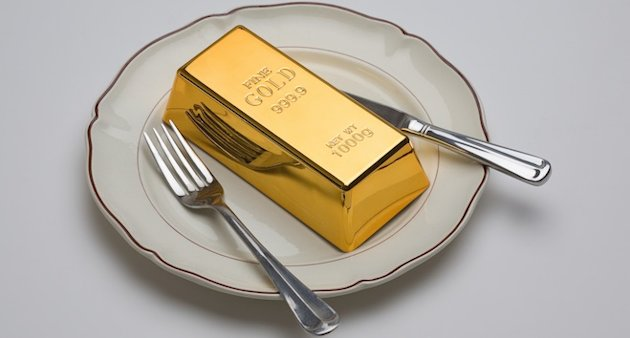 Gold is tasteless: So why put it in food?