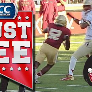 FSU QB Jameis Winston's Remarkable Hail Mary | ACC Must See Moment Candidate