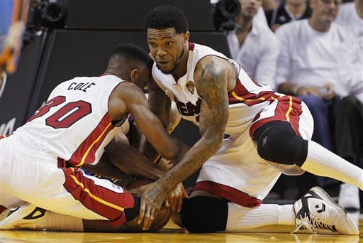 Heat top Thunder 104-98, 1 win from NBA title