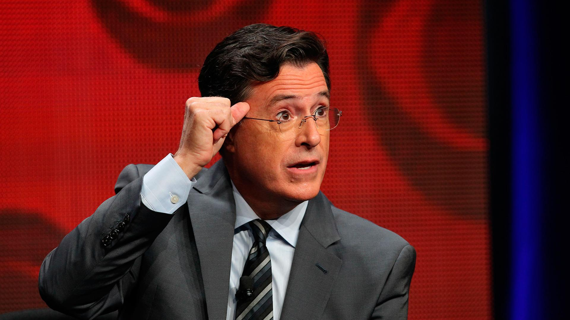 Stephen Colbert Promotes 'Late Show' on Snapchat