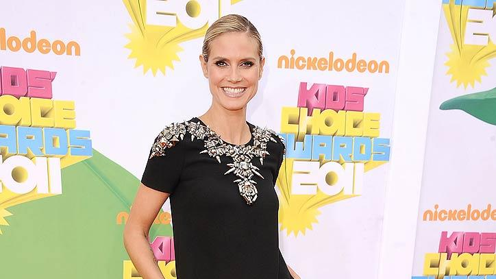 Heidi Klum Kids Choice Awards