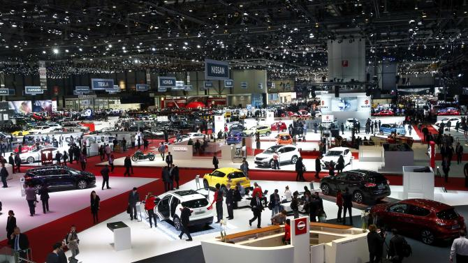 A general view of the 85th International Motor Show in Geneva