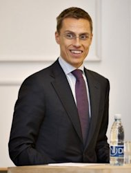 Finnlands Europaminister Alexander Stubb hat die mit internationalen Finanzhilfen untersttzten Staaten der Eurozone zu greren Spar- und Reformanstrengungen aufgefordert. Er nannte das Sparprogramm seines Landes in den neunziger Jahren als Vorbild