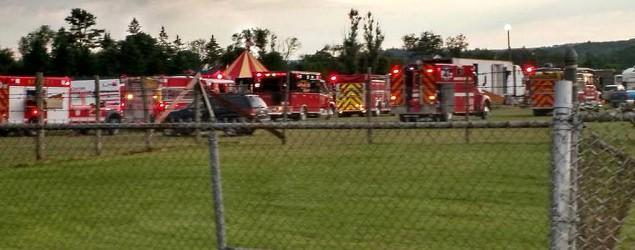 Deadly circus tent collapse in New Hampshire