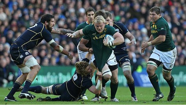 Rugby - South Africa unchanged for England clash