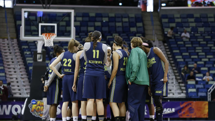 NCAA Womens Basketball: NCAA Tournament-Notre Dame Practice