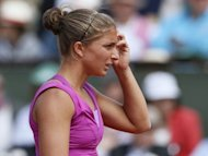 Sara Errani, pictured at the French Open in June, captured the Palermo Open on Sunday to become the first Italian ever to win four WTA titles in a season