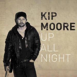 "In this CD cover image released by MCA Nashville, the latest release by Kip Moore, ""Up All Night,"" is shown. (AP Photo/MCA Nashville)"