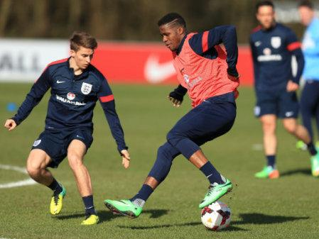 Soccer - UEFA Euro Under 21 Qualifying - Group 1 - England v Wales - England Training - St George's Park