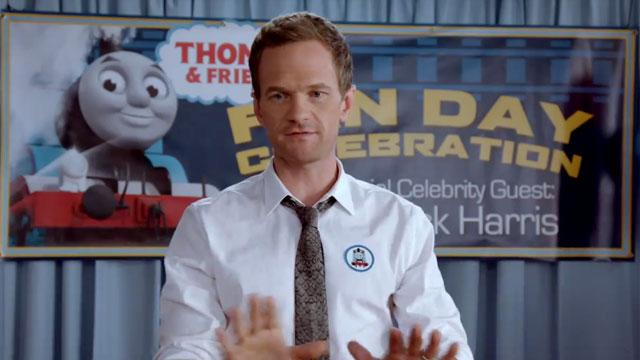 Neil Patrick Harris Freaks Out on Some Kids Over 'Thomas the Tank Engine'