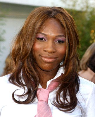 Serena Williams at the Hollywood premiere of Universal Pictures' The Bourne Supremacy