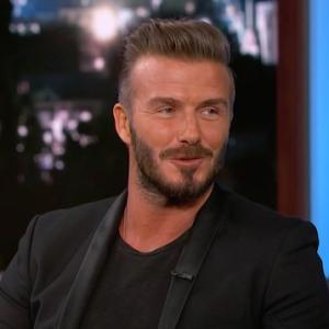 David Beckham's Weirdest Endorsement