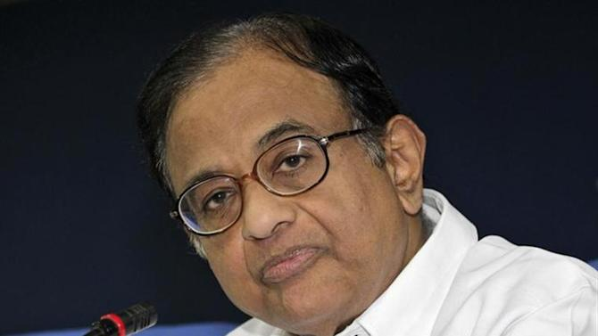 Finance Minister Palaniappan Chidambaram speaks during a news conference in New Delhi March 20, 2013. REUTERS/B Mathur/Files