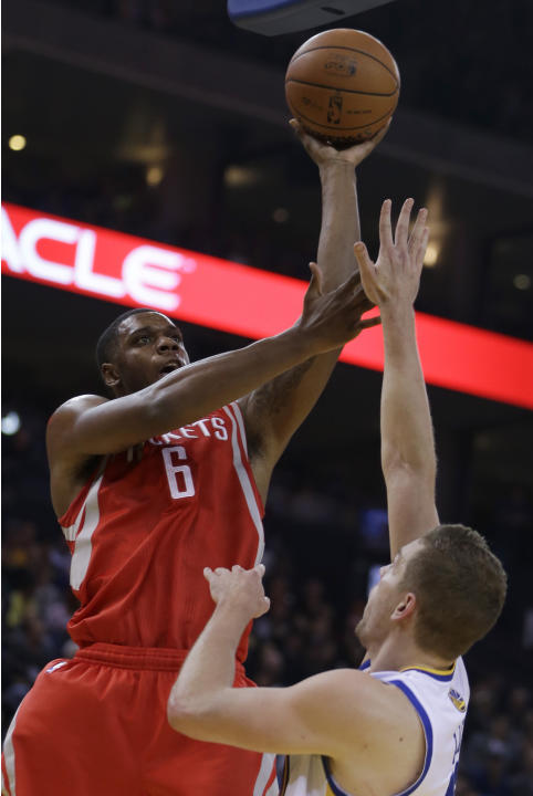 Harden helps Houston hold off Warriors, 116-112