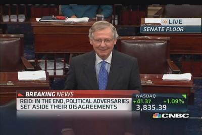 McConnell: Deal protects spending reductions
