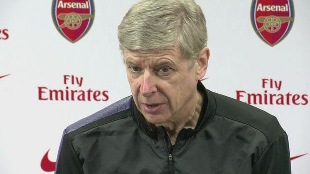 Arsene Wenger looks forward to league visit of Reading. [AMBIENT]