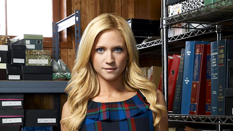 "Brittany Snow stars as Jenna Backstrom in ""Harry's Law."""