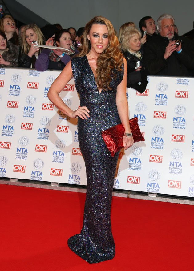 Michelle Heaton at the NTAs last week.
