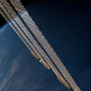 Earth's Beauty Reflects Off Space Station Solar Wings In Striking Astronaut Photo