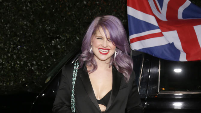 Kelly Osbourne attends the Topshop Topman LA Opening Party At Cecconi's in Los Angeles, on Wednesday, Feb. 13, 2013 in Los Angeles. (Photo by Todd Williamson/Invision for/AP)