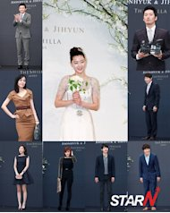 Jun Jihyun's wedding becomes a star studded event