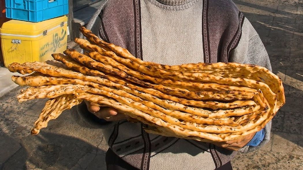 A Day in the Life of a Bread Baker in Iran