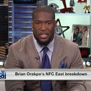 Washington Redskins linebacker Brian Orakpo's NFC East breakdown