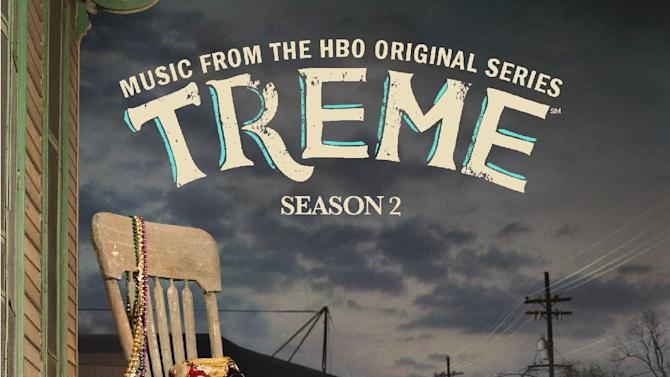 "In this CD cover image released by Rounder Records, ""Treme, Music from the HBO Original Series, Season Two""  is shown. (AP Photo/Rounder Records)"
