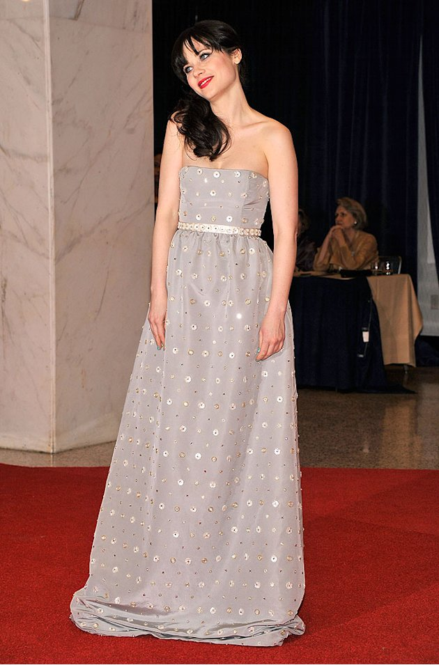 zooey deschanel white house
