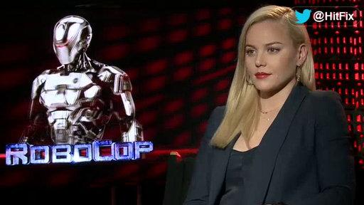 Abby Cornish On How She Would Wear the Suit for a 'Robocop' Sequel