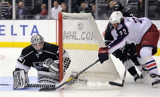 Kings beat Blue Jackets 3-2 with 1 second left