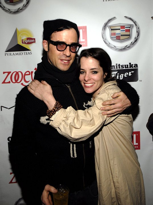 "Justin Theroux and Parker Posey of The Return of Jezebel James at the 2007 Park City - Hollywood Life House Cocktail Party for ""Dedication""."