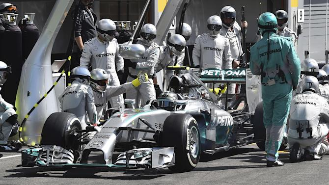 Mercedes disciplines Rosberg over Spa collision