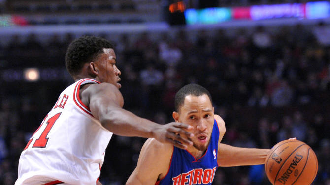 NBA: Detroit Pistons at Chicago Bulls