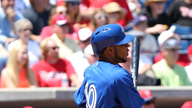 MLB: Spring Training-Toronto Blue Jays at Philadelphia Phillies