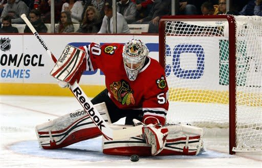 Blackhawks improve to 6-0 with win over Red Wings