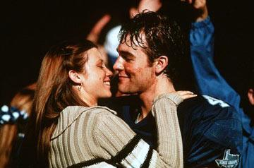 Amy Smart and James Van Der Beek in Paramount Pictures' Varsity Blues