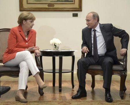 Russia must influence separatists to end Ukraine crisis, says Merkel
