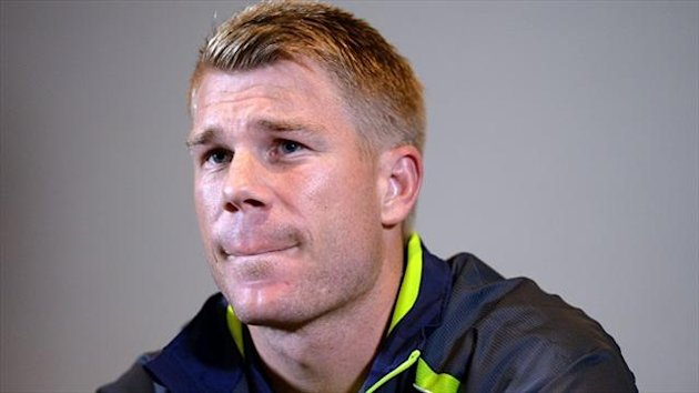 David Warner was suspended until the first Ashes Test