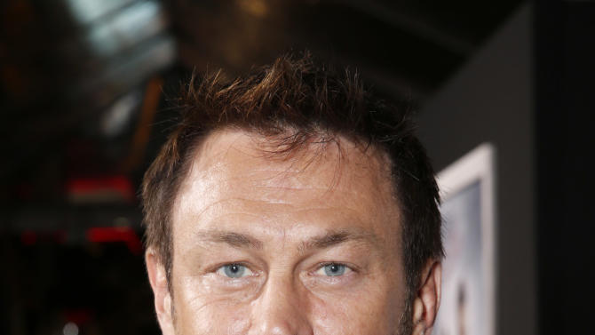 """Grant Bowler arrives at the premiere of """"Hansel & Gretel Witch Hunters"""" on Thursday Jan. 24, 2013, in Los Angeles.  (Photo by Todd Williamson/Invision/AP)"""