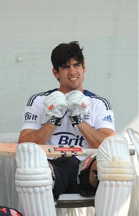 England captain Alastair Cook, pictured, insists paceman Steven Finn is now 'fully fit'