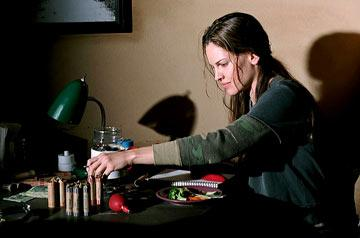 Hilary Swank in Warner Bros. Million Dollar Baby