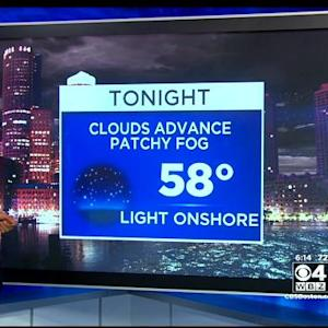 WBZ AccuWeather Evening Forecast For August 20