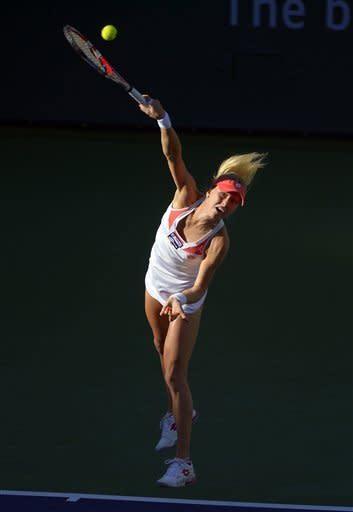 Djokovic, Azarenka, Sharapova win at Indian Wells